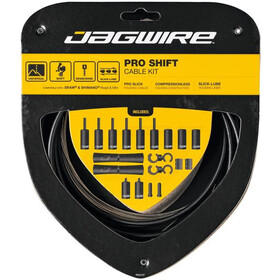 Jagwire 2X Pro Shift Schaltzugset stealth black